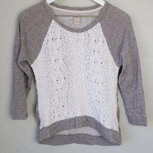 Lucky Brand Knit Scoop Neck Sweater